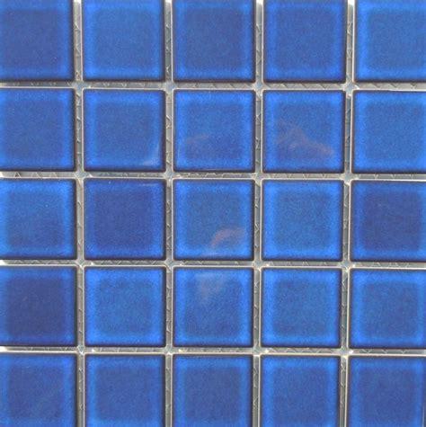 2 3 quot x2 3 quot cobalt blue mosaic pool tile from classic tile