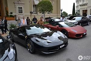 Ferrari 458 Noir : ferrari 458 italia novitec rosso 26 avril 2013 autogespot ~ Medecine-chirurgie-esthetiques.com Avis de Voitures