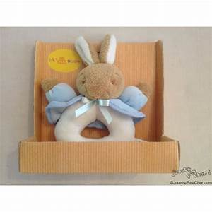 Jouet Bébé Pas Cher : lapin hochet en peluche prix discount jouets pas ~ Melissatoandfro.com Idées de Décoration