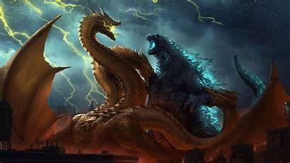 Godzilla Monsters 4k King Fanposter Resolution Wallpapers