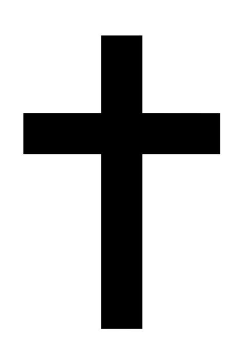 Crucifix Clipart Black And White | Clipart Panda - Free