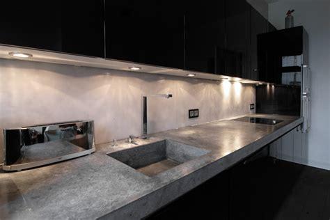 Lithic, Arbeitsplatte Aus Beton  Industrial Küche