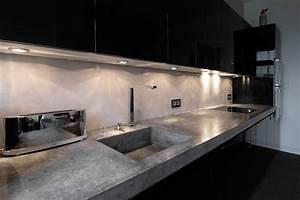 Küche Beton Arbeitsplatte : lithic arbeitsplatte aus beton industrial k che hamburg von material raum form ~ Sanjose-hotels-ca.com Haus und Dekorationen