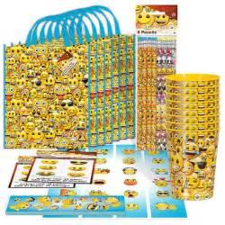 party favor ideas for baby shower emoji party supplies emoji standard favor packs favors