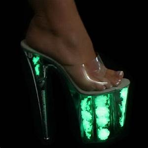 Light up high heels