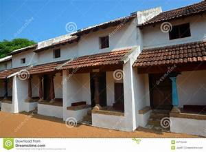 Traditional Indian house stock image. Image of roof ...