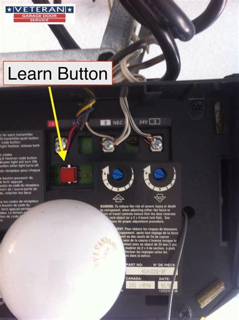 craftsman garage door opener learn button garage door opener side motor garage wiring diagram and