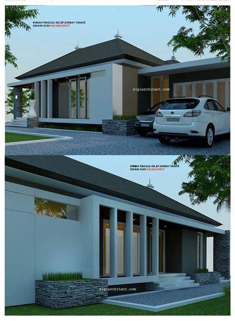 desain rumah  lantaiminimalis modern luas bangunan
