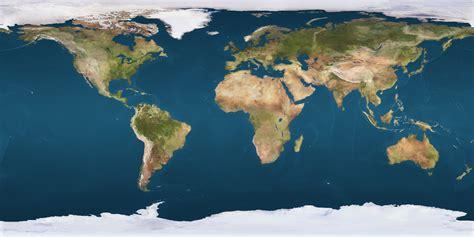 high resolution map  earth