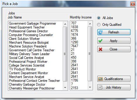 random jobs image textlife indie db