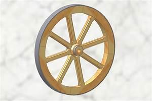 Roue De Brouette Bricomarché : roue de brouette en bois autodesk inventor step iges ~ Melissatoandfro.com Idées de Décoration