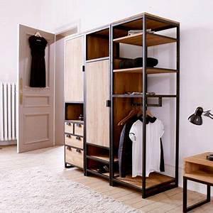 Solution Dressing Pas Cher : dressing tikamoon pratique design et pas cher ~ Premium-room.com Idées de Décoration