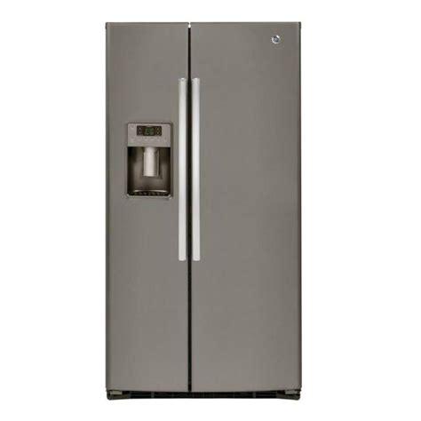 ge side  refrigerator leaking water  floor floor roma