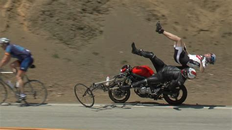 Motorcycle Crashes On Mulholland Drive Have Become Youtube