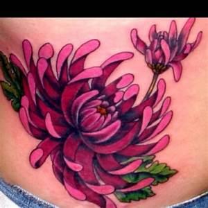 Chrysanthemum - November birth flower. | Tattoos | Pinterest