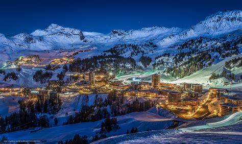 bureau paysage tlcharger fond d 39 ecran savoie montagnes nuit