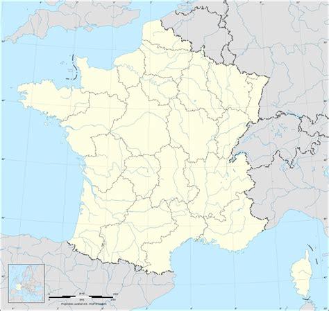 Carte Région Administrative Vierge by Cartes De Frances Vierges Avec D 233 Limitations Des R 233 Gions