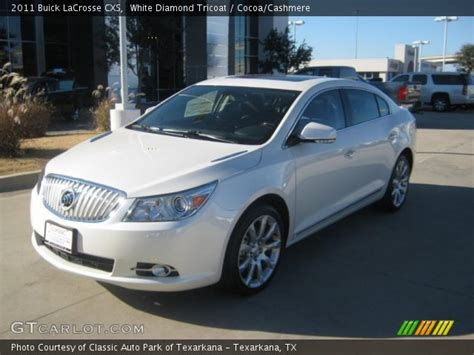 Buick Lacrosse 2011 Cxs by White Tricoat 2011 Buick Lacrosse Cxs Cocoa