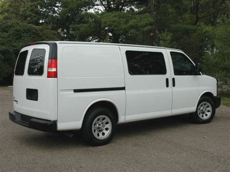 automobile air conditioning service 2009 chevrolet express 1500 transmission control sell used 2009 chevy express cargo van awd clean in butler pennsylvania united states