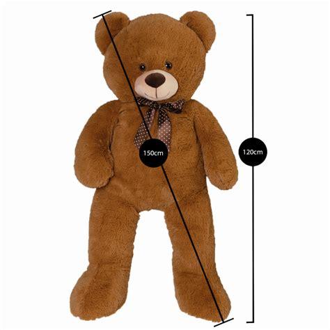 ours en peluche g 233 ant 150 cm brun piscine et jeux