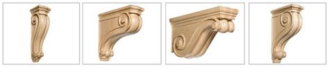 White River Corbels by Corbels Kitchen Applications White River Hardwoods