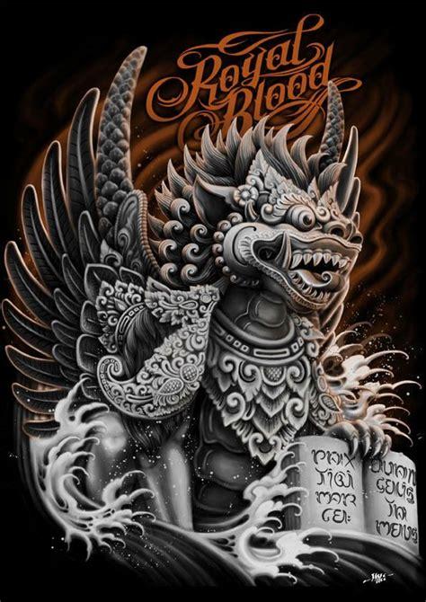 royal blood singa ambara  raka siwi  behance fu