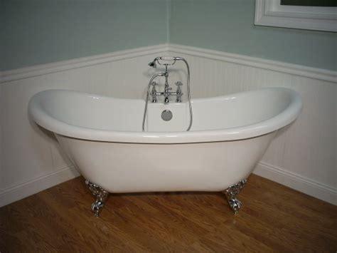 Bath Tub Set by Slipper Clawfoot Tub Includes Faucet Drain Set
