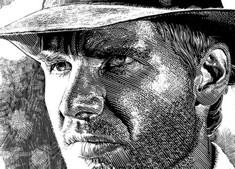 create woodcut illustration  illustrator