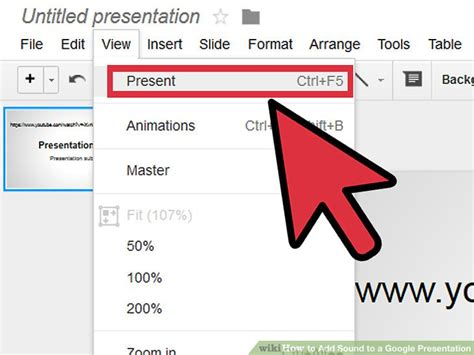 It can be very difficult to imagine that we used to live without google. 3 Ways to Add Sound to a Google Presentation - wikiHow
