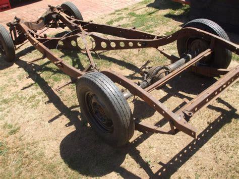 vauxhall australian 1939 dodge chassis rare plymouth chrysler hotrod ratrod