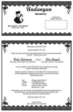 undangan walimatul ursy format docx