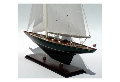 Shamrock V. 1930 J Boat Replica Model