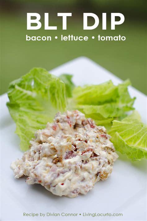 Bacon Lettuce and Tomato Dip Recipe