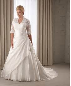 wedding gowns plus size plus size wedding dresses with sleeves