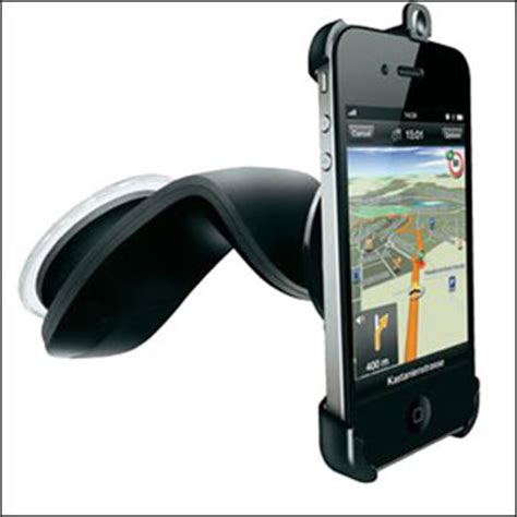 iphone holder for car navigon iphone 4s 4 car holder with charger mobilezap