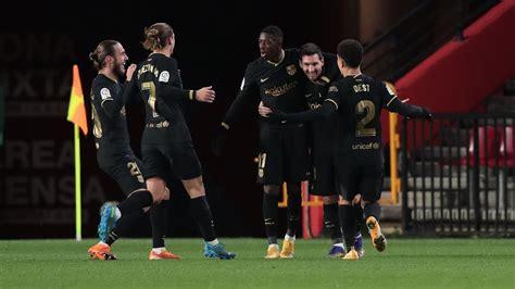 Granada vs. Barcelona - Resumen de Juego - 9 enero, 2021 ...