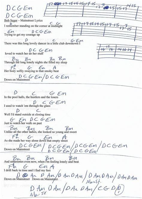 Green Day Boulevard Of Broken Dreams Chords Choice Image - chord ...
