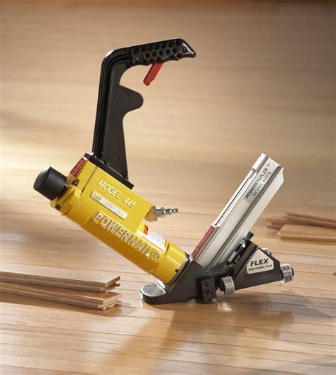 Powernail 15.5 Gauge Pneumatic Stapler 445FS with power roller