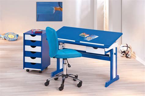 bureau de chaise de bureau enfant bleue clara chaise de bureau