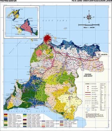 gambar peta propinsi banten indonesia gambar peta
