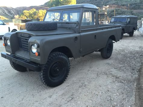 land rover pickup truck 1973 land rover 109 pick up truck rare for sale in santa