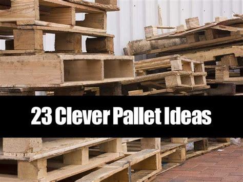 wooden pallets      common