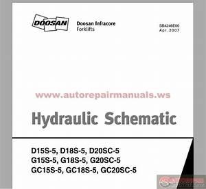 Doosan Forklift Hydraulic Schematic
