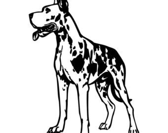 Choose from over a million free vectors, clipart graphics, vector art images, design templates, and illustrations created by artists worldwide! Great Dane Silhouette Images at GetDrawings   Free download