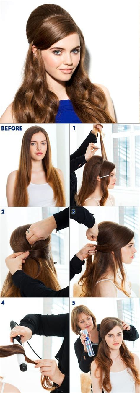 How To Create 60s Hairstyles by Best 25 1960s Hair Tutorial Ideas On Locked