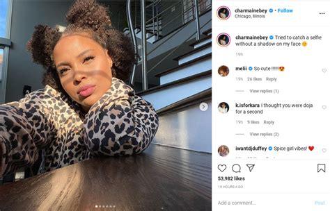 good black ink crew chicago star charmaine walker stuns  internet