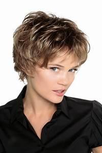 Coup De Cheveux Femme : coupe de cheveux courte effil e femme ~ Carolinahurricanesstore.com Idées de Décoration
