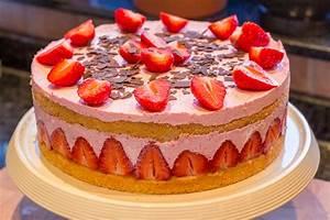 Torte Mit Erdbeeren : sahnige erdbeer joghurt torte terraginas blog ~ Lizthompson.info Haus und Dekorationen