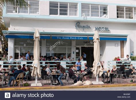the front porch cafe front porch cafe on drive miami south stock