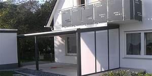 Terrassenüberdachung Mit Seitenwand : terrasse seitenwand sichtschutz opal team is tec ihr spezialist f r alu berdachungen ~ Whattoseeinmadrid.com Haus und Dekorationen